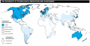 The geography of technological innovation and achievement
